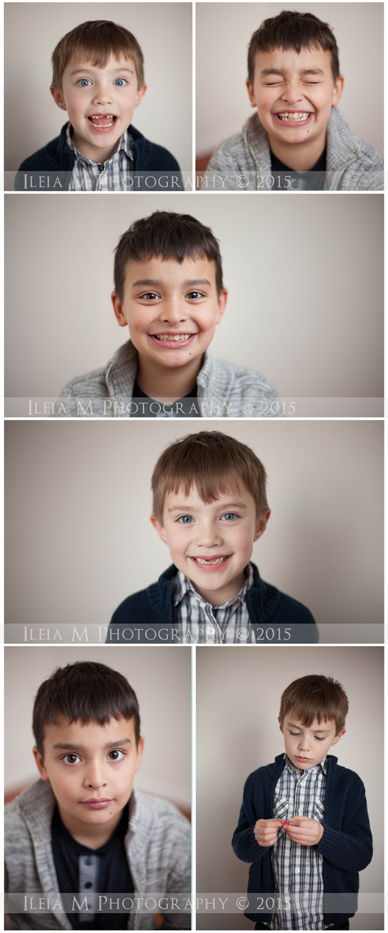 simple childrens portrait Blog Board